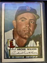 Archie Wilson Baseball Cards 1952 Topps Prices