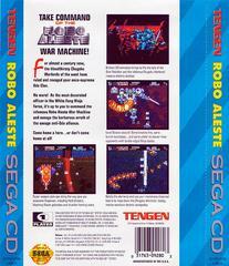 Robo Aleste - Back | Robo Aleste Sega CD