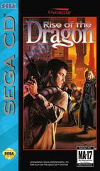 Rise Of The Dragon - Newer - Front / Manual | Rise of the Dragon Sega CD