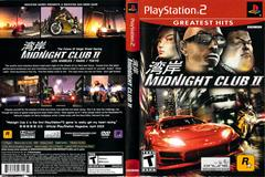 Slip Cover Scan By Canadian Brick Cafe | Midnight Club 2 Playstation 2
