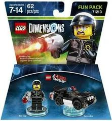 The LEGO Movie - Bad Cop [Fun Pack] Lego Dimensions Prices