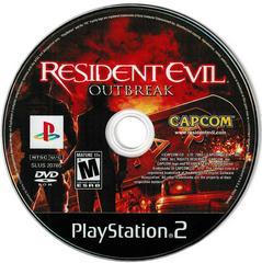 Game Disc | Resident Evil Outbreak Playstation 2