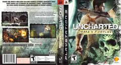 Slip Cover Scan By Canadian Brick Cafe   Uncharted Drake's Fortune Playstation 3