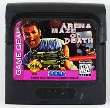 Arena Maze Of Death - Cartidge | Arena Maze of Death Sega Game Gear