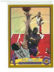 Shaquille O'Neal [Gold Refractor] Basketball Cards 2003 Topps Chrome Prices