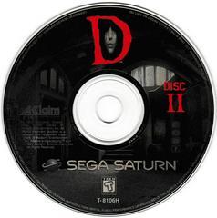 Game Disc 2 | D Sega Saturn
