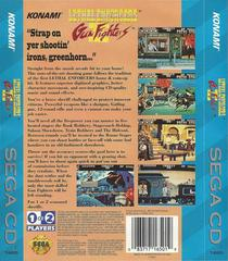 Lethal Enforcers II Gun Fighters - Back | Lethal Enforcers II Gun Fighters Sega CD