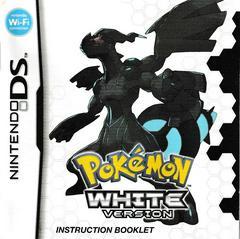 Manual - Front | Pokemon White Nintendo DS