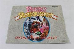 Panic Restaurant - Manual   Panic Restaurant NES