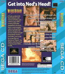 Wirehead - Back   Wirehead Sega CD