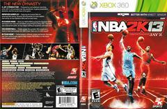 Artwork - Back, Front | NBA 2K13 Xbox 360