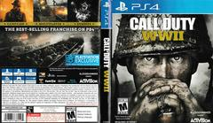Artwork - Back, Front | Call of Duty WWII Playstation 4