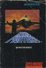 Aero Fighters - Manual   Aero Fighters Super Nintendo