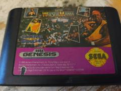Cartridge (Front)   WWF Super Wrestlemania Sega Genesis