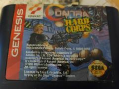 Cartridge (Front) | Contra Hard Corps Sega Genesis