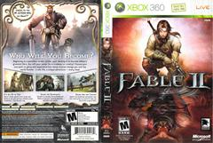 Slip Cover Scan By Canadian Brick Cafe | Fable II Xbox 360