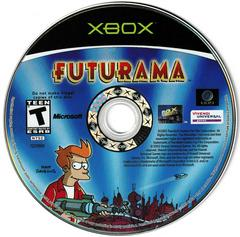 Game Disc | Futurama Xbox