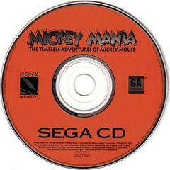 Mickey Mania - Disc | Mickey Mania Sega CD