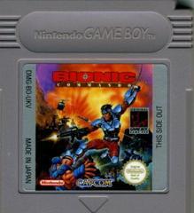 Bionic Commando - Cartridge | Bionic Commando GameBoy