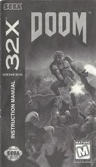 Doom - Manual | Doom Sega 32X