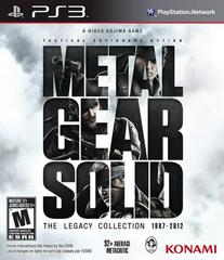 Front Cover | Metal Gear Solid: The Legacy Collection [Artbook Bundle] Playstation 3