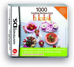 1000 Cooking Recipes from Elle PAL Nintendo DS Prices
