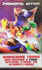 Advertisement - Front | F-Zero GX Gamecube