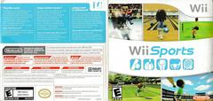 Cardboard Sleeve - Back, Front | Wii Sports Wii