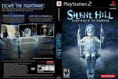 Back/Front Cover | Silent Hill: Shattered Memories Playstation 2