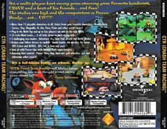 Back Of Case | CTR Crash Team Racing Playstation