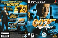 Artwork - Back, Front | 007 Nightfire Playstation 2