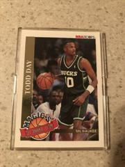 Todd Day Basketball Cards 1992 Hoops Magic's All-Rookie Prices