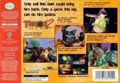 Back Cover | Turok 2 Seeds of Evil Nintendo 64