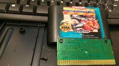 Cartridge Label And Board Back | Street Fighter II Special Champion Edition Sega Genesis
