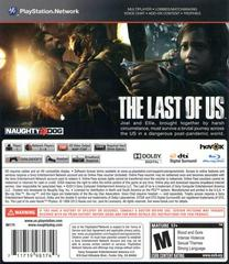 Back Cover | The Last of Us Playstation 3
