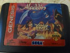 Cartridge (Front) | Aladdin Sega Genesis