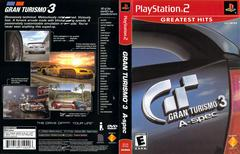 Slip Cover Scan By Canadian Brick Cafe   Gran Turismo 3 Playstation 2