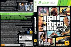 Slip Cover Scan By Canadian Brick Cafe | Grand Theft Auto V Xbox 360