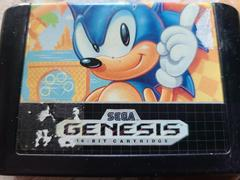 Cartridge (Front) | Sonic the Hedgehog Sega Genesis