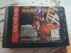 Cartridge (Front)   NBA Hang Time Sega Genesis