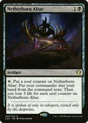 Netherborn Altar Magic Commander 2020 Prices