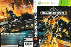 Artwork - Back, Front | Crackdown 2 Xbox 360