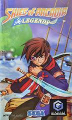 Manual - Front | Skies of Arcadia Legends Gamecube