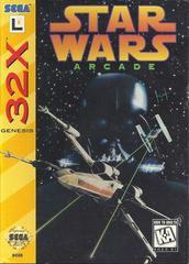 Star Wars Arcade - Front | Star Wars Arcade Sega 32X