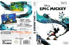 Slip Cover Scan By Canadian Brick Cafe   Epic Mickey Wii