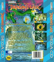 Dragon'S Lair - Back | Dragon's Lair Sega CD