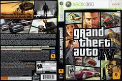 Slip Cover Scan By Canadian Brick Cafe | Grand Theft Auto IV Xbox 360