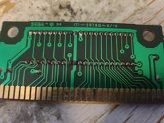 Circuit Board (Reverse) | Mickey Mania Sega Genesis