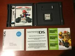 Inside Box With Instruction Manuals And Game | Mario Kart DS Nintendo DS