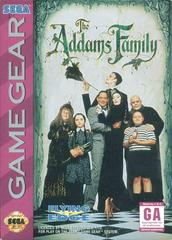 The Addams Family - Front | Addams Family Sega Game Gear